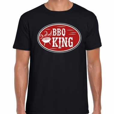 Bbq king cadeau t-shirt zwart heren