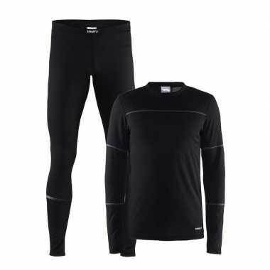 Craft schaats thermopak zwart heren shirt