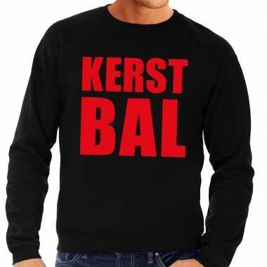 Foute kersttrui kerst bal zwart heren shirt