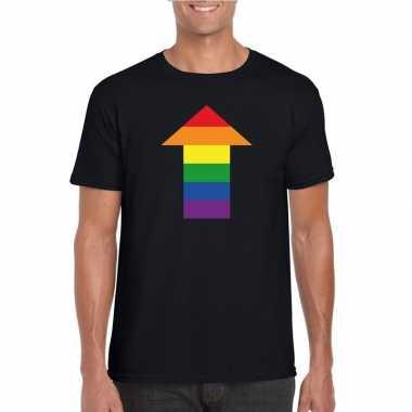 Gay shirt pijl top zwart heren