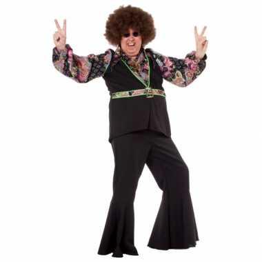 Grote maat hippie blouse heren shirt