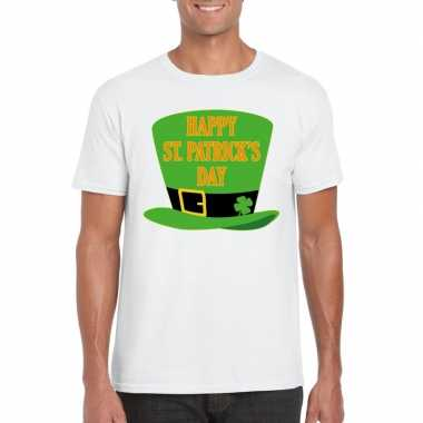 Happy st. patricksday shirt t shirt wit heren