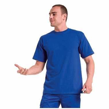 Heren blauw grote maten t shirt xl