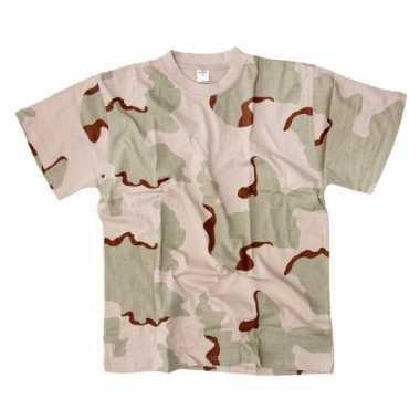 Heren  Desert camouflage t-shirt korte mouw