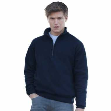 Heren fruit of the loom sweatshirt rits