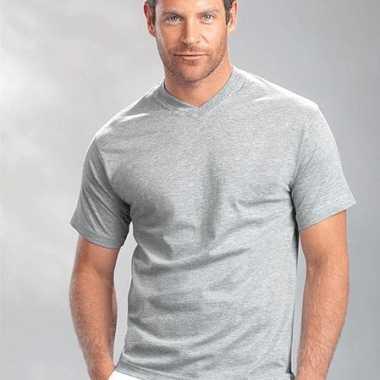 Heren  Hanes V-hals t-shirt