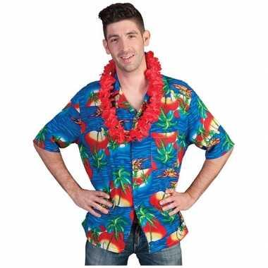 Heren hawaii blouse maui shirt