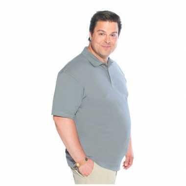 Heren  Logostar grote maten poloshirt XL