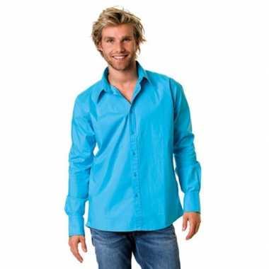 Heren overhemd super colors shirt