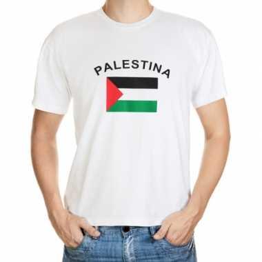 Heren palestina t shirt vlag
