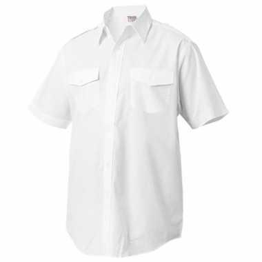Heren politie overhemd korte mouw shirt