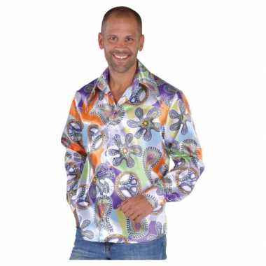 Hippie blouses heren cool shirt