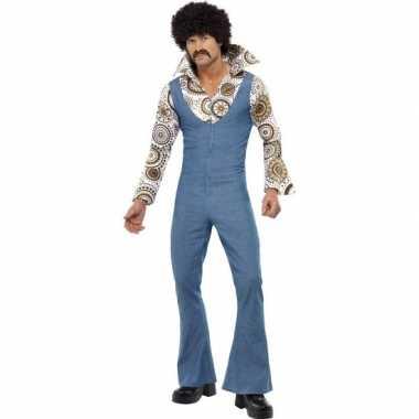 Jaren disco kostuum heren shirt