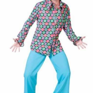 Jaren disco overhemd heren shirt