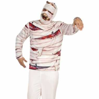 Mummie verkleed shirt heren