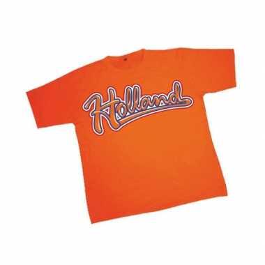 Oranje holland t shirt heren