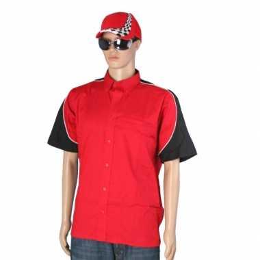 Race outfit heren maat l shirt