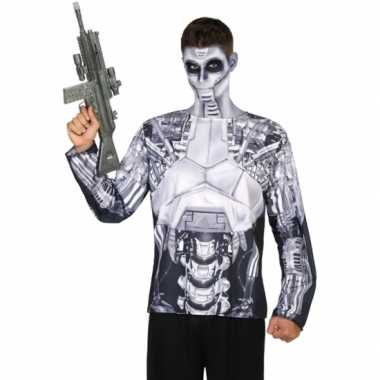 Robot verkleed shirt heren