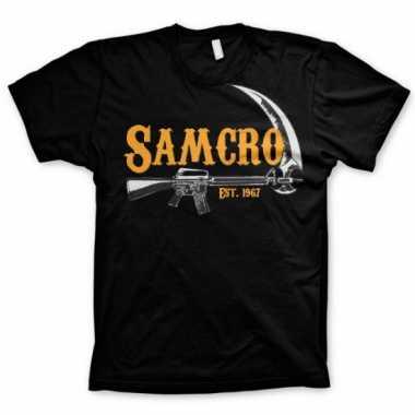 Samcro t shirt heren