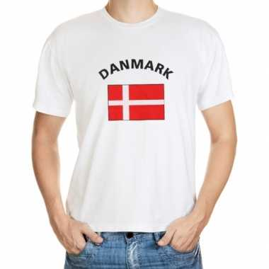 Wit t shirt denemarken heren