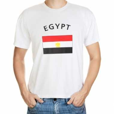Wit t shirt egypte heren