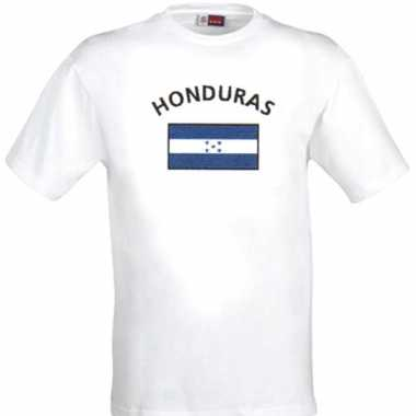 Wit t shirt honduras heren