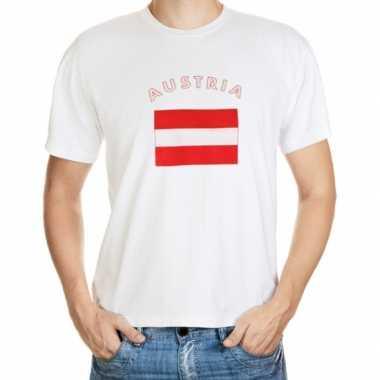 Wit t shirt oostenrijk heren