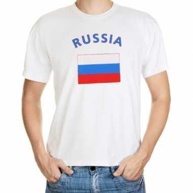 Wit t shirt rusland heren