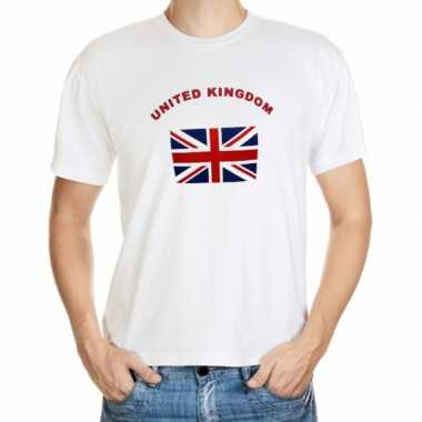 Wit t shirt united kingdom heren