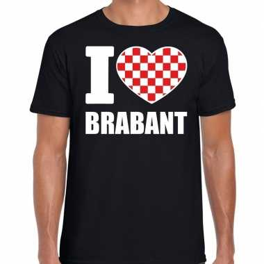 Zwart i love brabant t-shirt heren