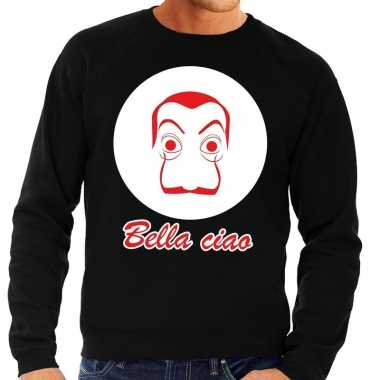 Zwarte salvador dali sweater heren shirt