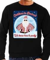 Foute kersttrui christmas brabant zwart heren shirt