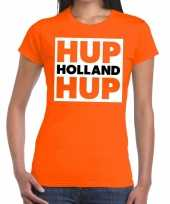 Heren nederlands elftal supporter shirt hup holland hup oranje da