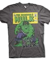 Heren the incredible hulk t-shirt korte mouwen