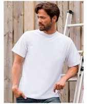 Heren wit grote maten t shirt xl