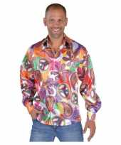 Hippie blouses heren fun shirt