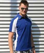 Kobalt malibu polo heren shirt